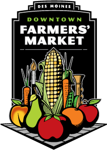 Downtown Farmers' Market in Des Moines, Iowa
