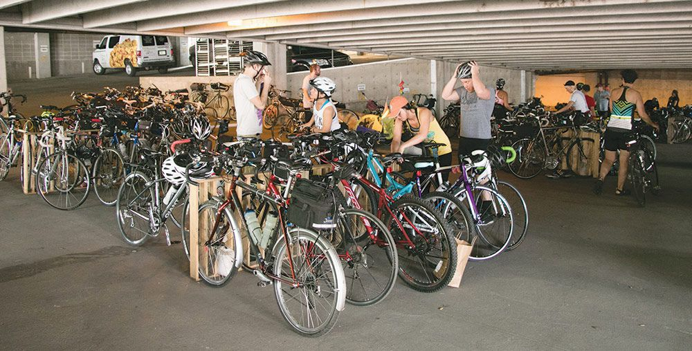 Bike Valet Programming at the Downtown Farmers' Market