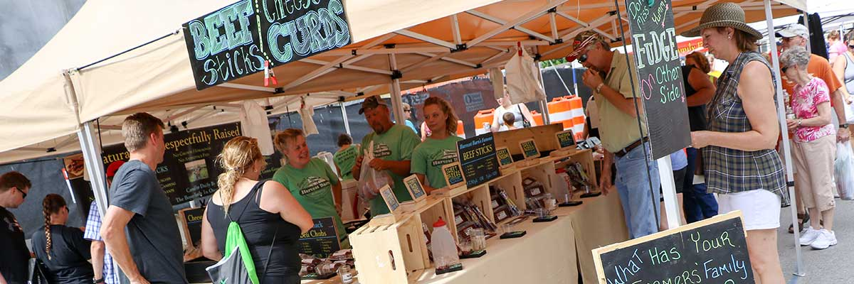 Vendor Applications for the Downtown Farmers' Market