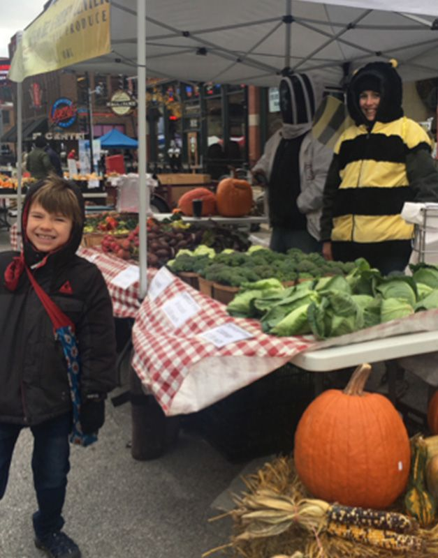 Pumpkins at the DTFM