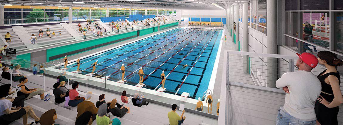 Midamerican Energy Aquatic Center Opening In Dsm