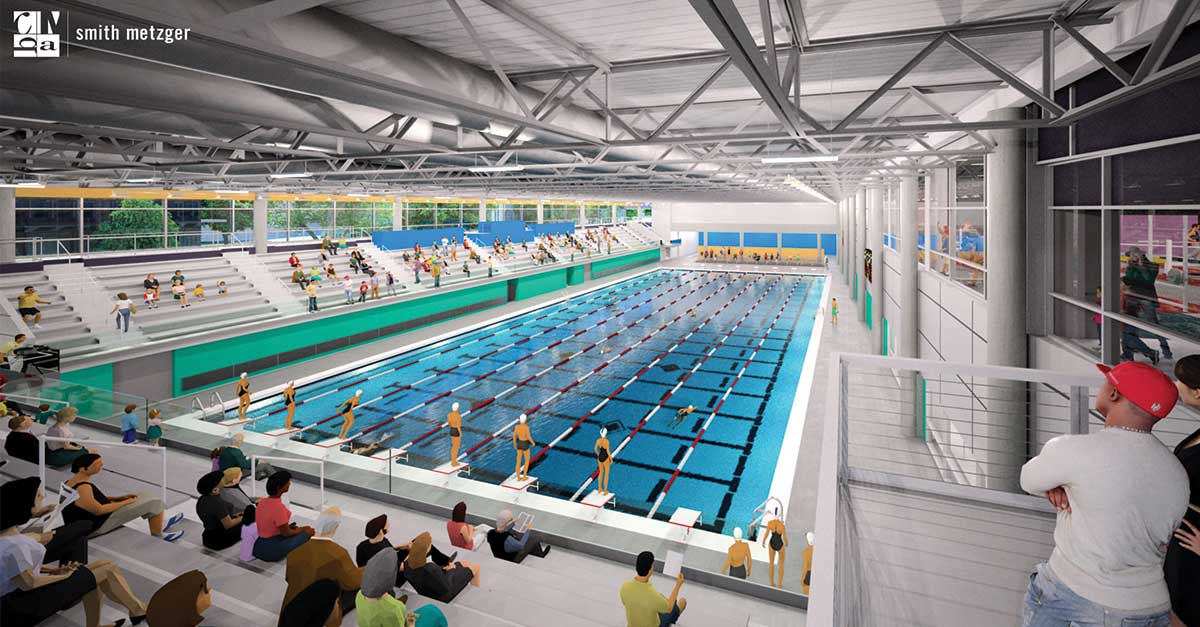 Des Moines Shopping >> MidAmerican Energy Aquatic Center Opening in DSM