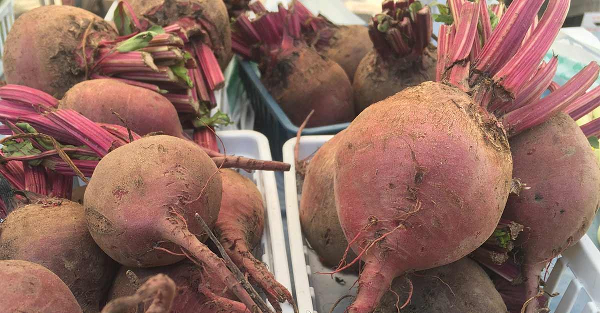 Farmers' Market beets