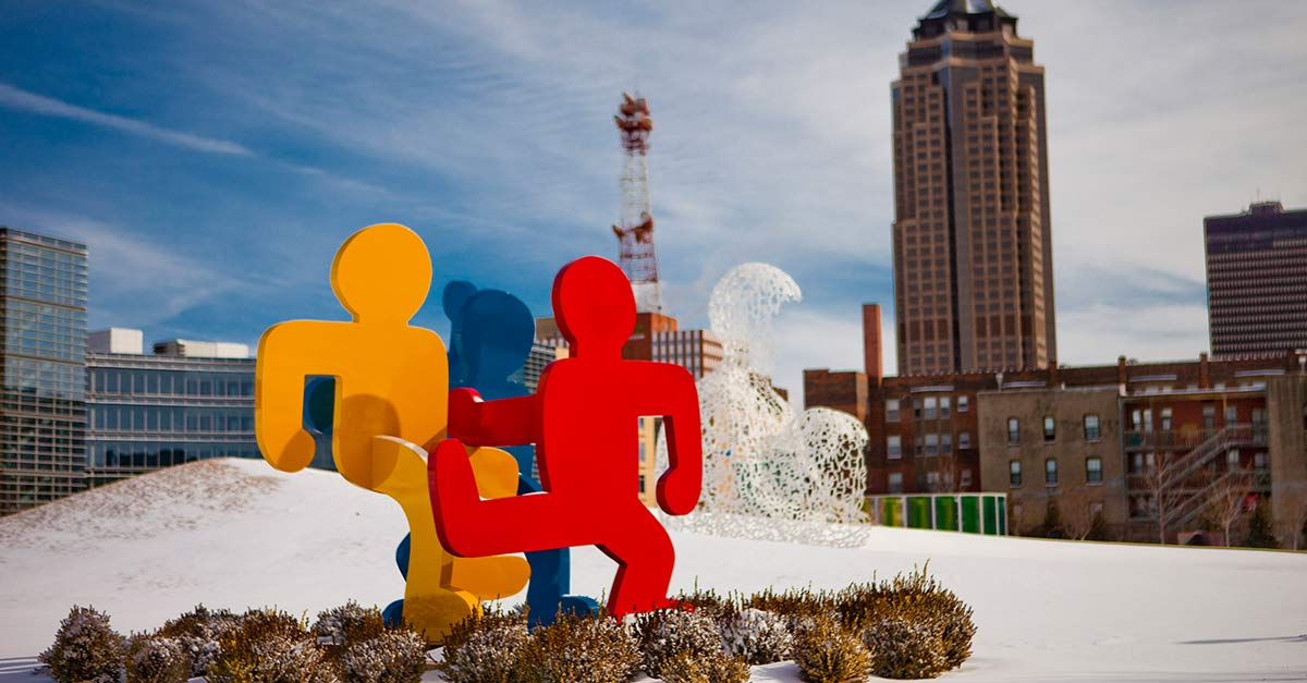 John & Mary Pappajohn Sculpture Park