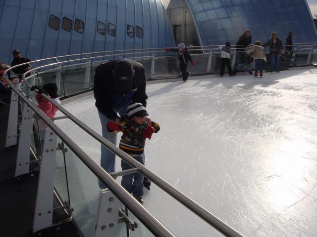 Skating at Brenton