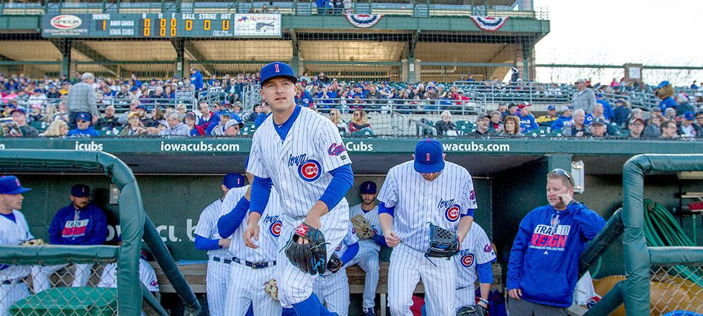 Iowa Cubs in Downtown DSM USA