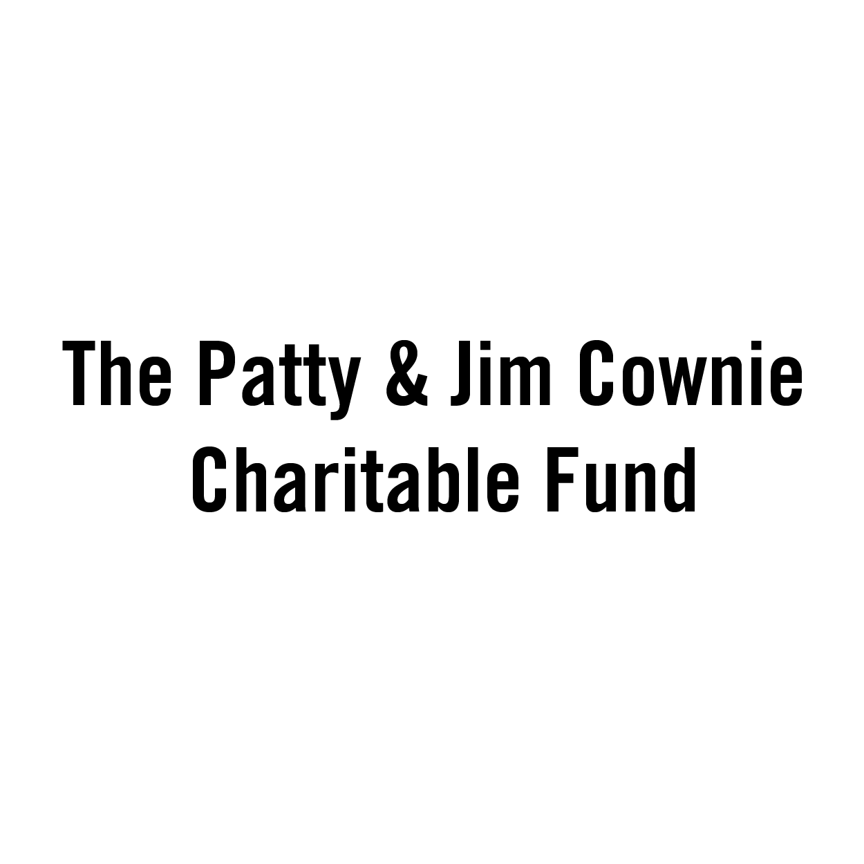 Cownie Charitable Fund