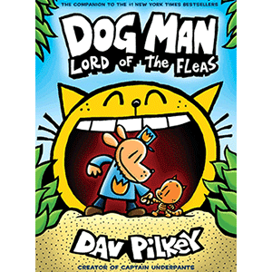'Dog Man' Scavenger Hunt