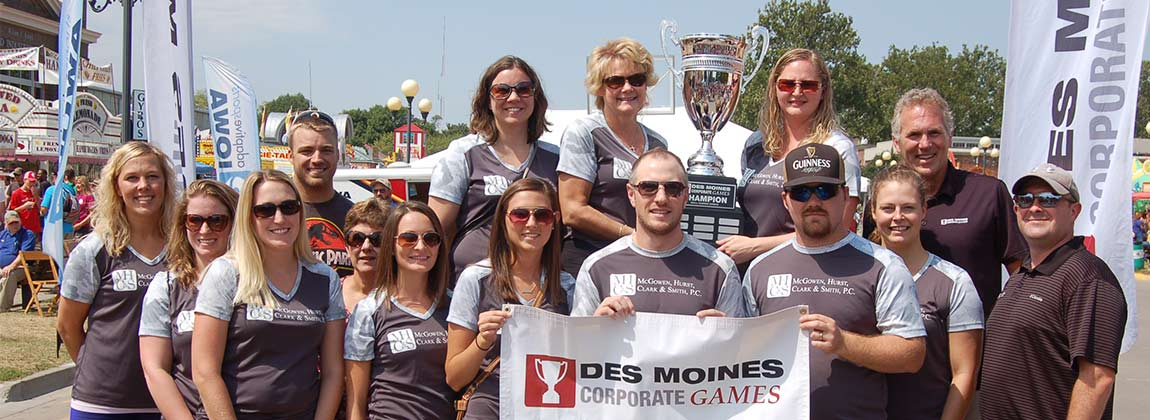 Des Moines Corporate Games