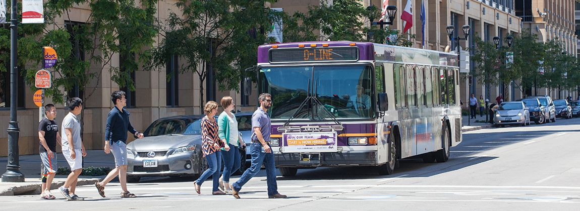 Residents can use the DART D-Line to explore Downtown Des Moines