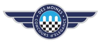 Des Moines Concours dElegance Logo