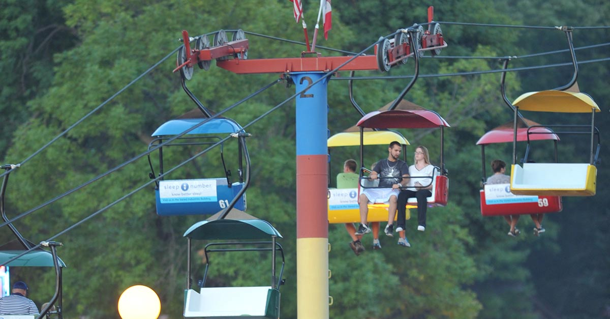 Iowa State Fair Sky Ride