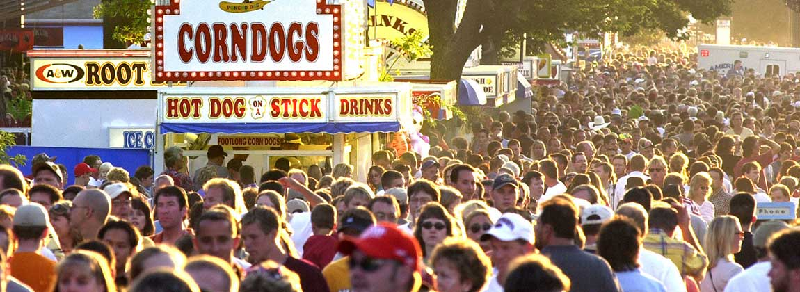 Iowa State Fair Favorites in DSM USA