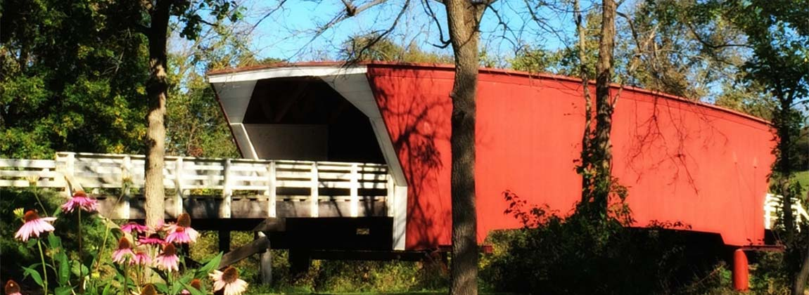 Covered Bridges Scenic Byway in Madison County