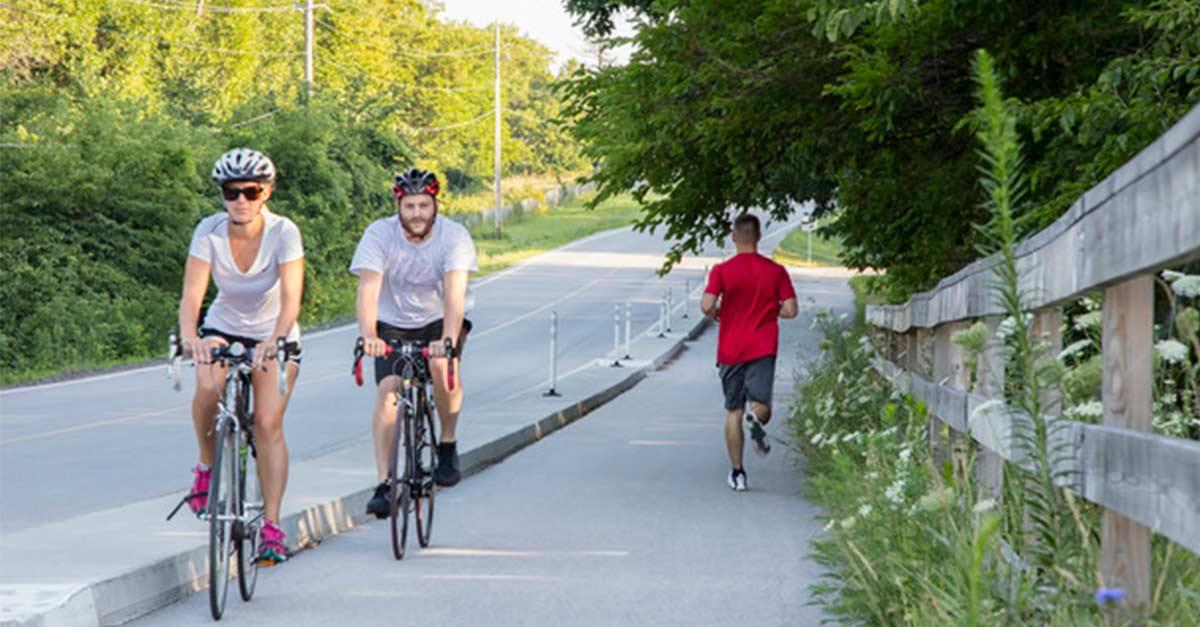 Biking in DSM USA