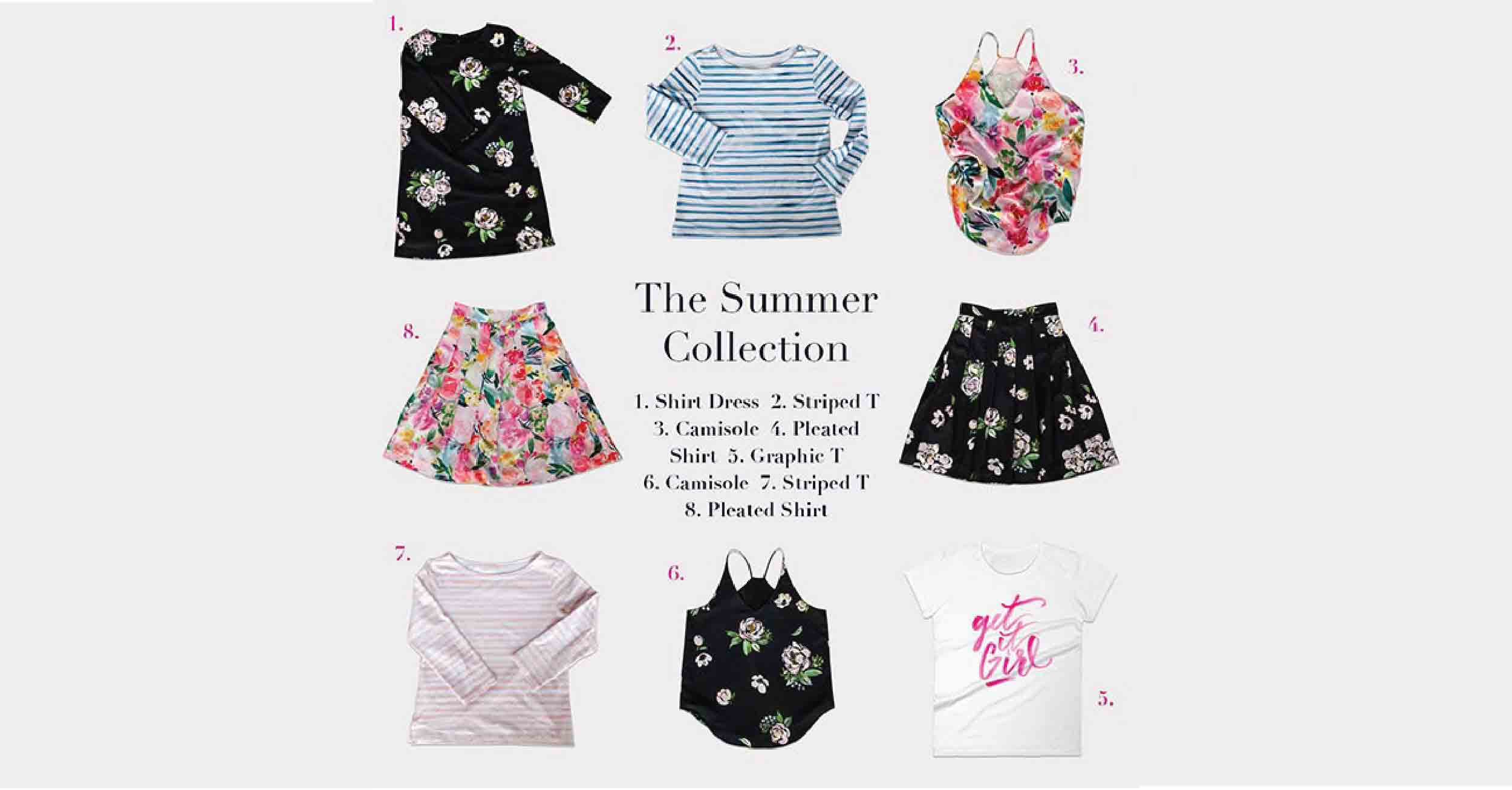 Lidgett Summer Collection