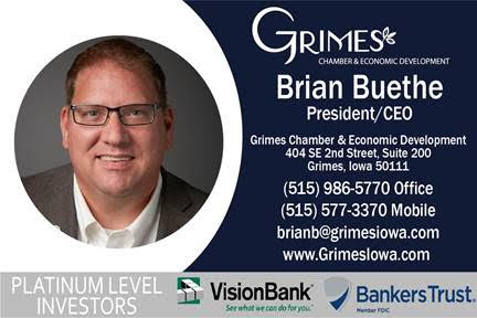 Brian Buethe Grimes Chamber