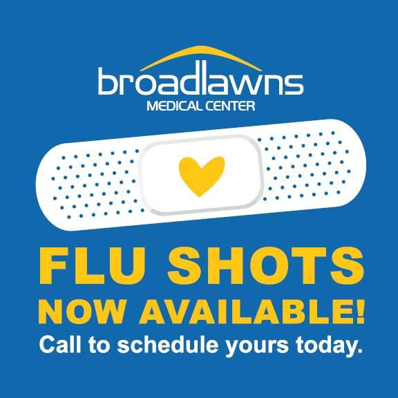 Flu Shots at Broadlawns
