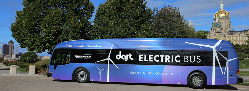 DART Electric Buses