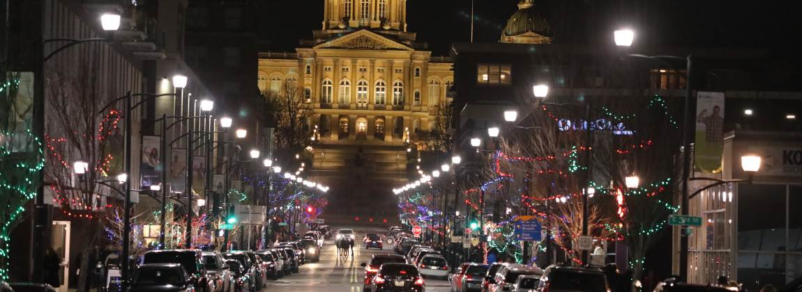 Small Business and Winter Activities in DSM