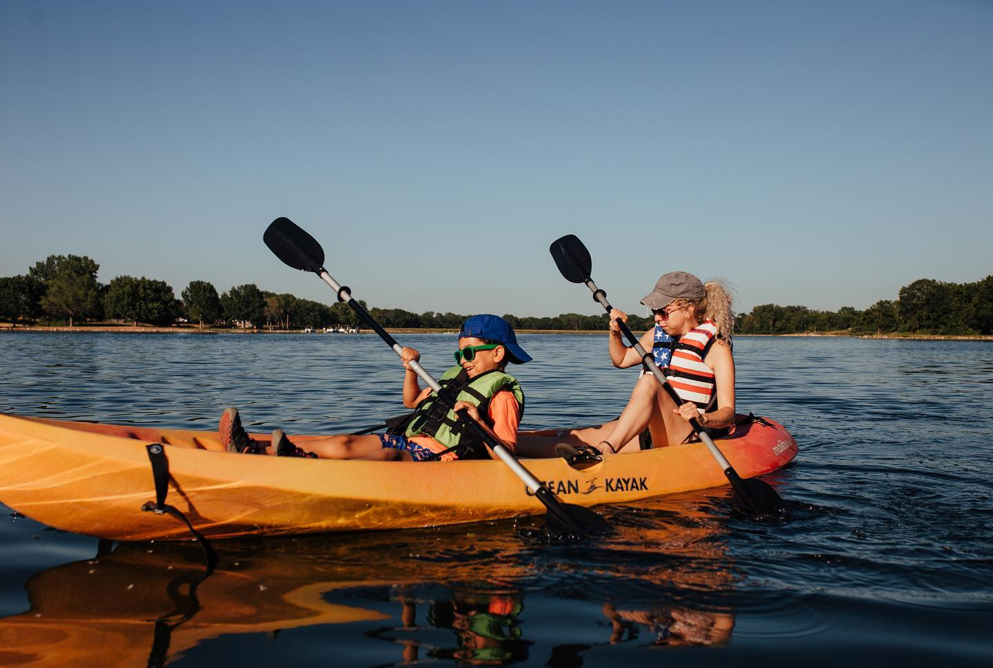 Kayaking with the Family
