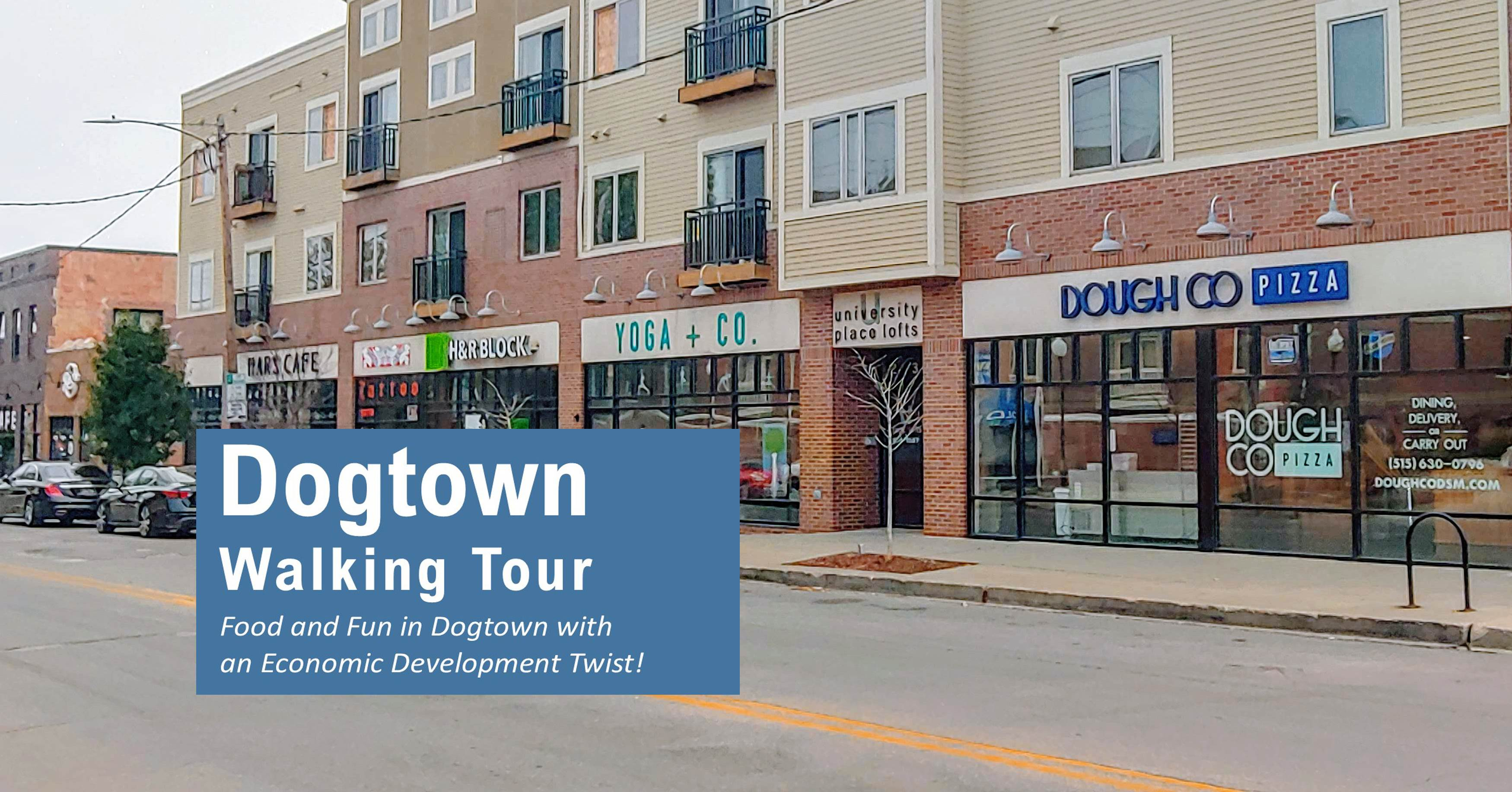 Dogtown Walking Tour in Des Moines