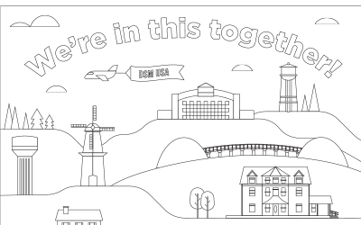 In This Together Coloring Page