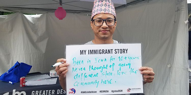 Immigrant Story in DSM USA