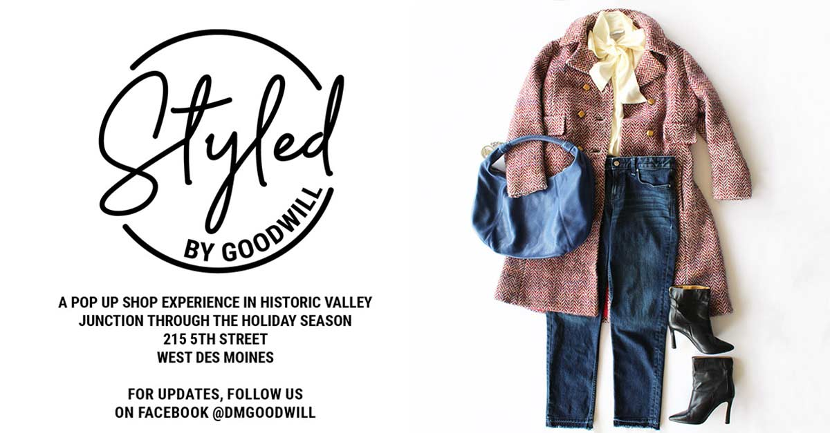 Style by Goodwill in Historic Valley Junction