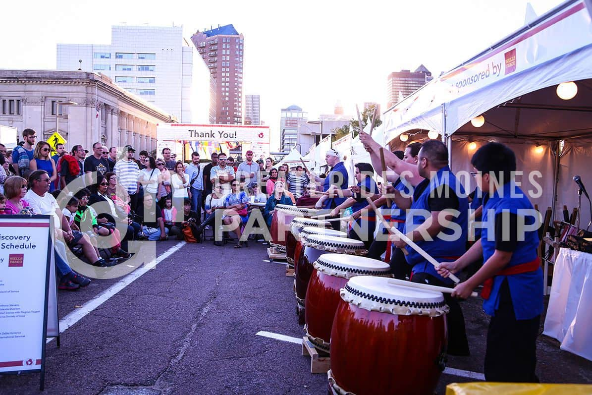 World Food and Music Festival Drummers