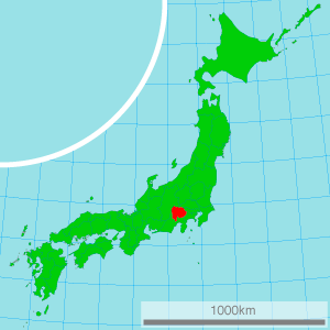 YP Conference Map of Yamanashi