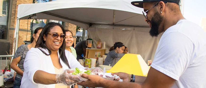 Food at the World Food and Music Festival